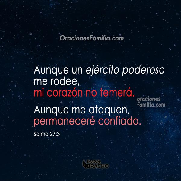 versiculo cristiano salmo 27 para dormir en la noche
