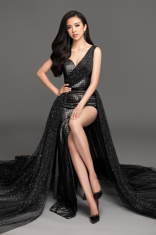 Runner Thuy An of Miss Vetnam 2018.