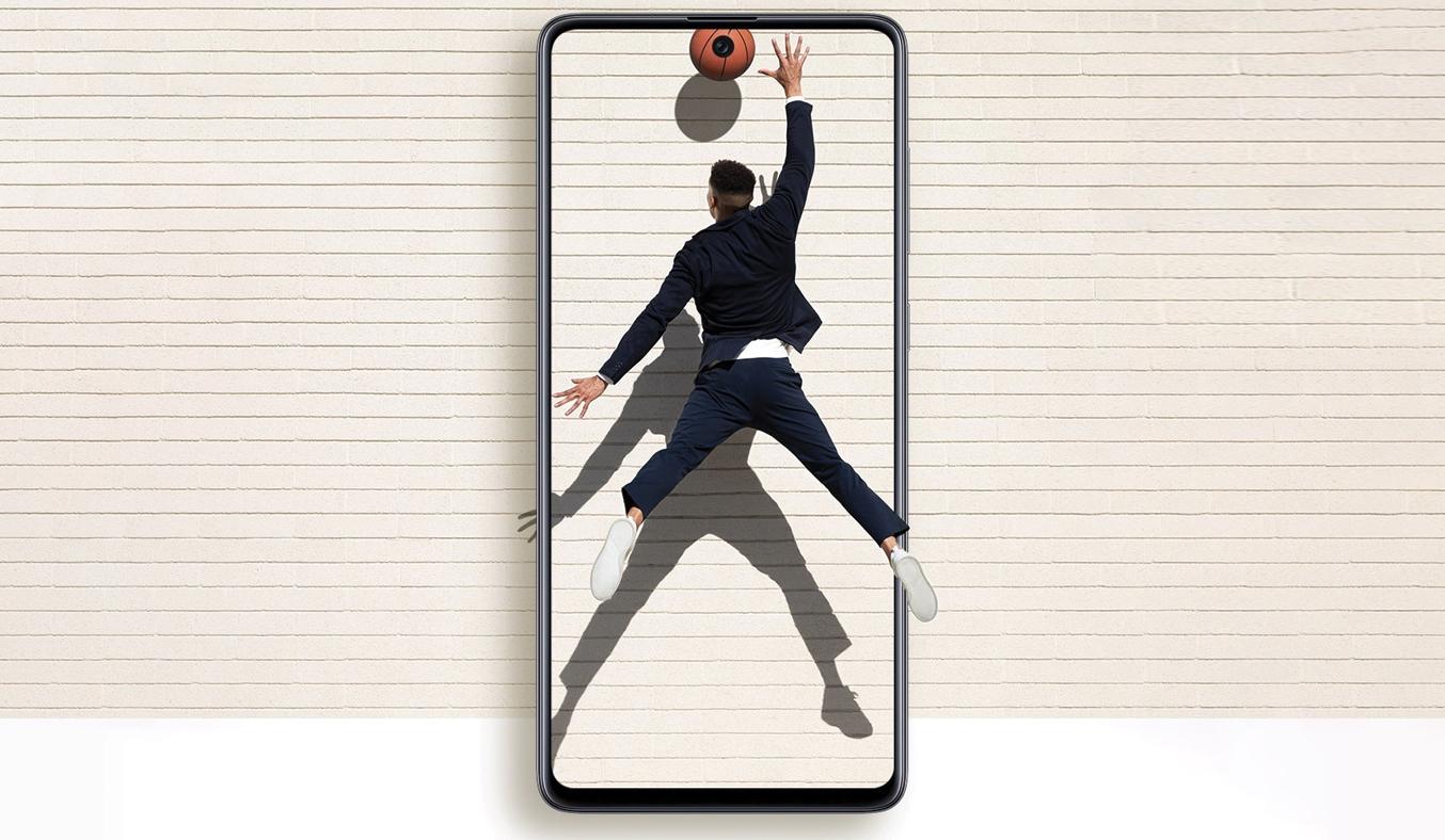 Điện thoại Samsung Galaxy A71 Đen