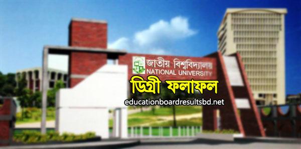 National University Degree Result - nu.edu.bd