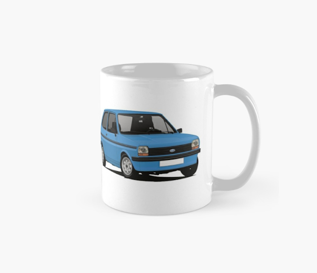Ford Fiesta Mk1 - coffee mug