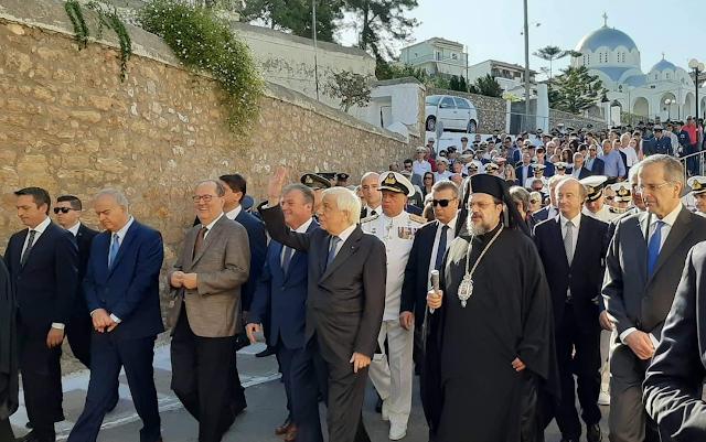 Παρουσία του Προέδρου της Δημοκρατίας γιόρτασε η Πύλος την επέτειο της Ναυμαχίας του Ναβαρίνου