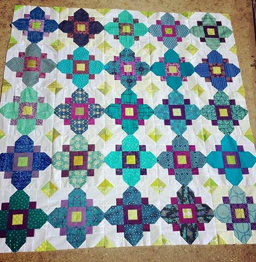 Quatrefoil Quilt Free Pattern