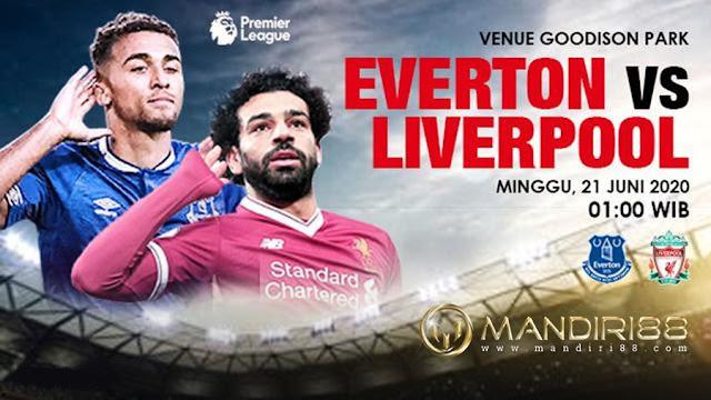 Prediksi Everton Vs Liverpool, Senin 22 Juni 2020 Pukul 01.00 WIB @ Mola TV