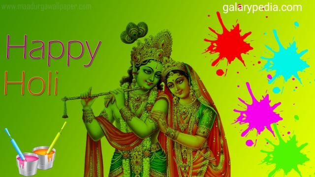 Download Radha Krishna Holi images