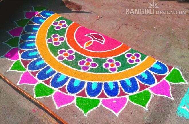 rangoli designs for diwali 2018 simple rangoli pattern