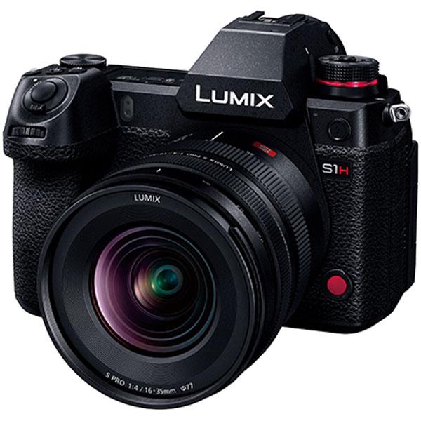 Panasonic Lumix S Pro 16-35mm f/4 с камерой Panasonic Lumix S1H