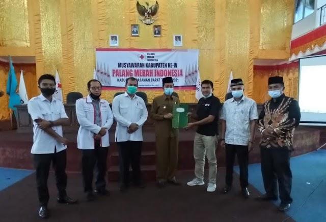 Risnawanto Nahkodai PMI Kabupaten Pasaman Barat || dutametro