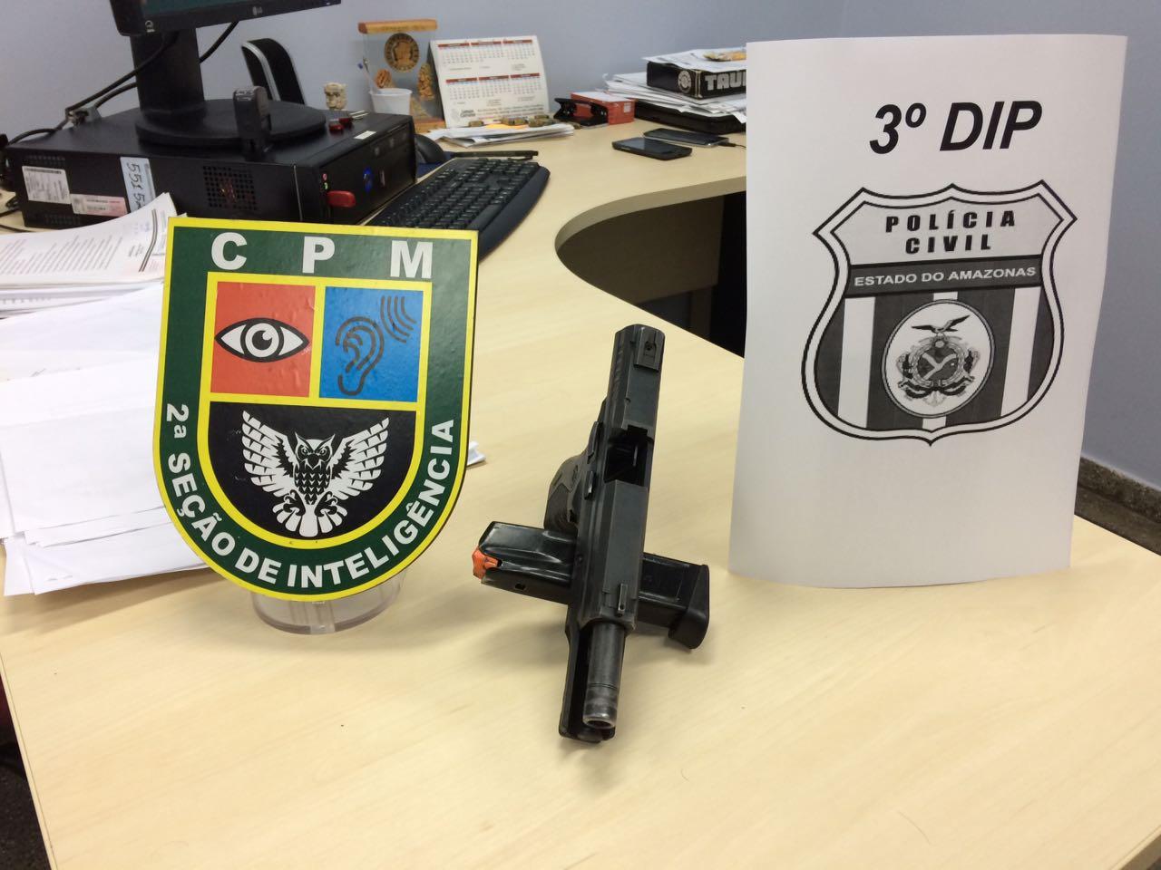 A o conjunta resulta na pris o de dupla por porte ilegal for Uso e porte de arma
