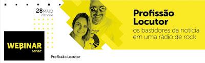 Senac São Paulo realiza webinar sobre os bastidores das notícias de rádio