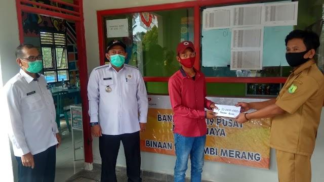 Bank COVID-19 Desa Mendis Jaya, Inovasi Ditengah Pandemi