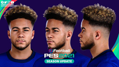 PES 2021 Faces Reece James by Yeshua