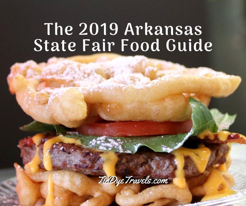 arkansas state fair food 2020