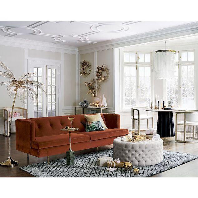 Chinoiserie Chic Palm Love, Palm Floor Lamp Cb2