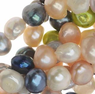 Diseños de collares de perlas naturales