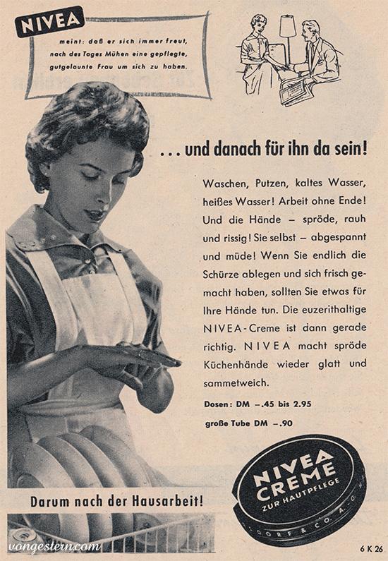 50er Jahre  Think about pink ads