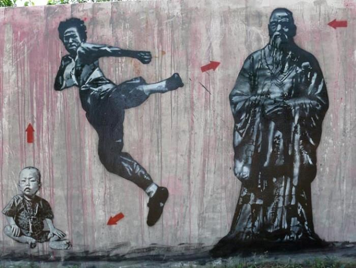 Французский граффити-художник.