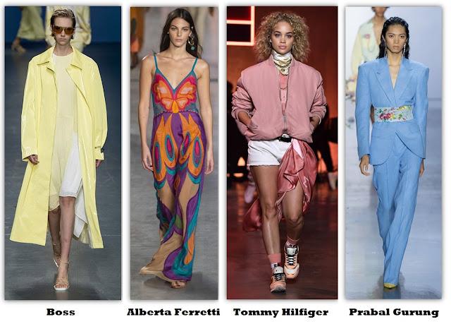 Tendencia de colores Primavera-Verano 2020/21