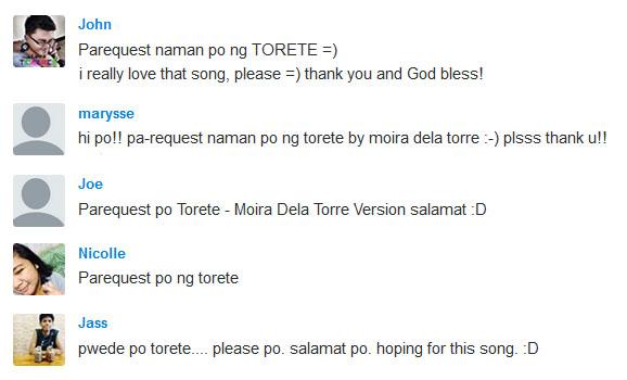 Torete - Moira Dela Torre | Music Letter Notation with Lyrics for ...