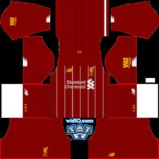 Liverpool - Dream League Soccer 2020 Kits
