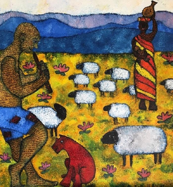 Картины, полные юмора и символизма