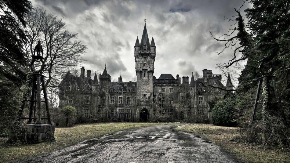 Abandoned Miranda Castle, Belgium