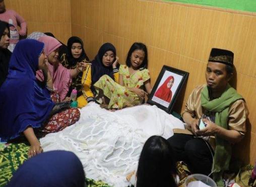 Penyakit Penyebab Meninggalnya Istri Ustad Maulana Hj Nur Aliah,