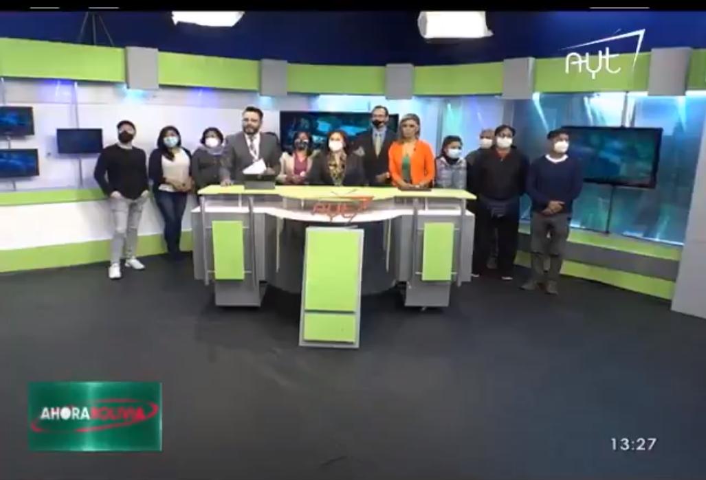 Planta de AYT, el canal que Irán le regaló a  Evo Morales, en estado de emergencia / CAPTURA PANTALLA