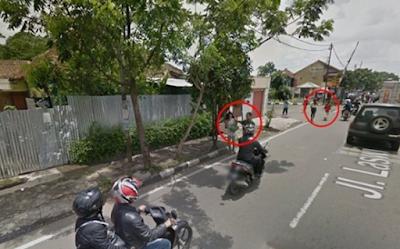 5 KEJADIAN UNIK  YANG TEREKAM GOOGLE MAP DI INDONESIA