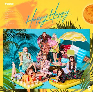 [Single] TWICE – Happy Happy (4th Japan Single) [MP3/320K/ZIP]