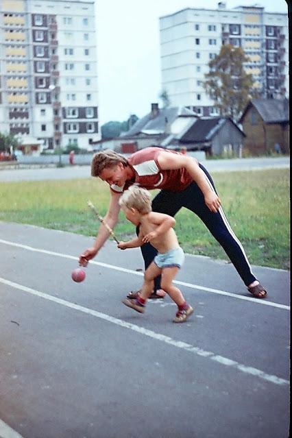 1988-1989-й годы. Рига. Золитуде. На стадионе возле школы № 91