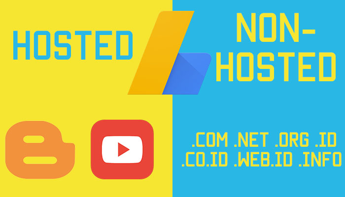 Adsense Hosted ke Non Hosted