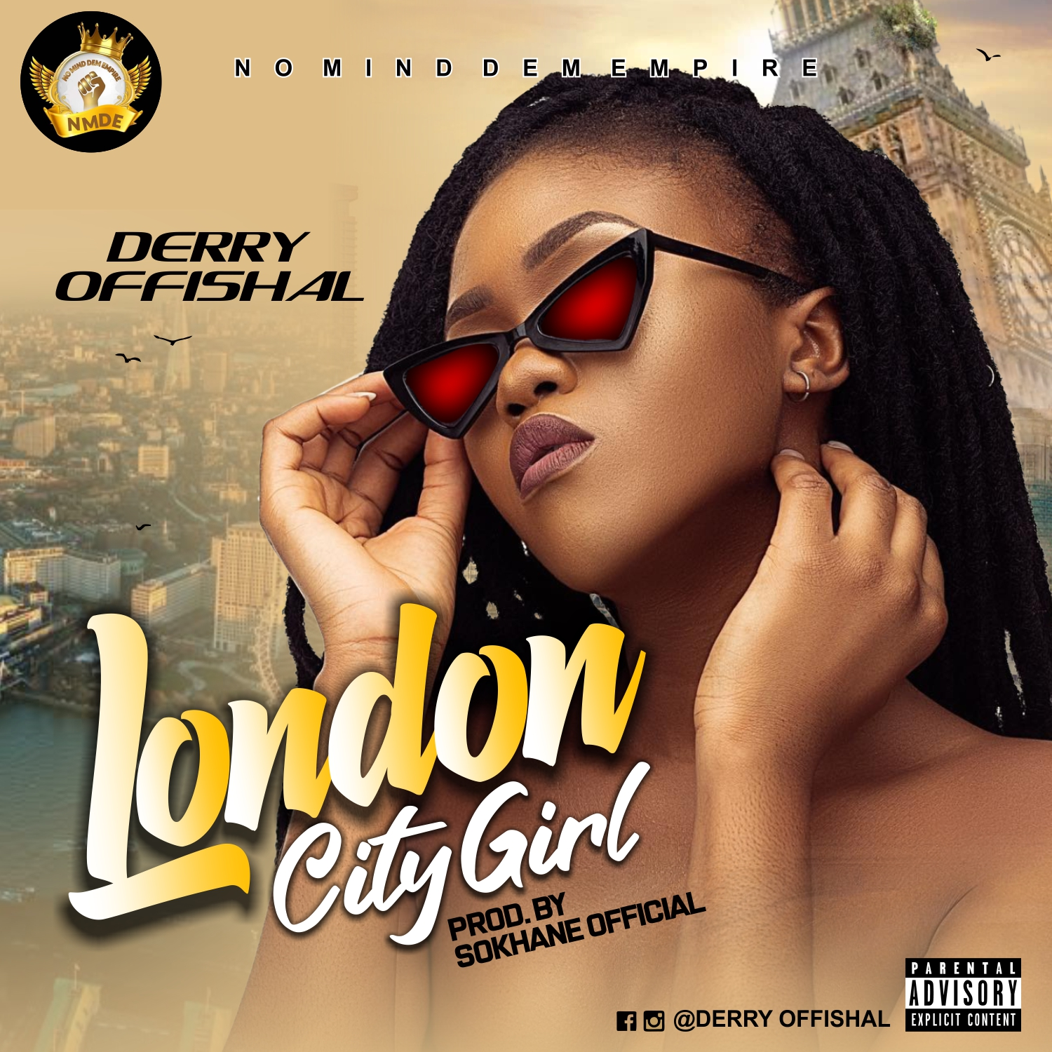 [MUSIC] Derry Offishal – London City Girl #Arewapublisize