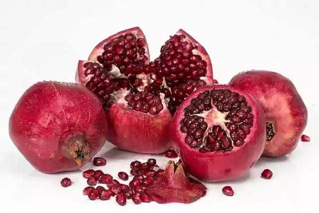 How to cut a pomegranate, Nutrition, Benefits, and Side effects