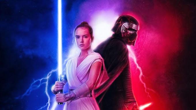 Rey e Kylo Ren Star Wars