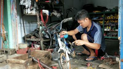 Paska Corona, Omset Bengkel Sepeda Naik Tiga Kali Lipat