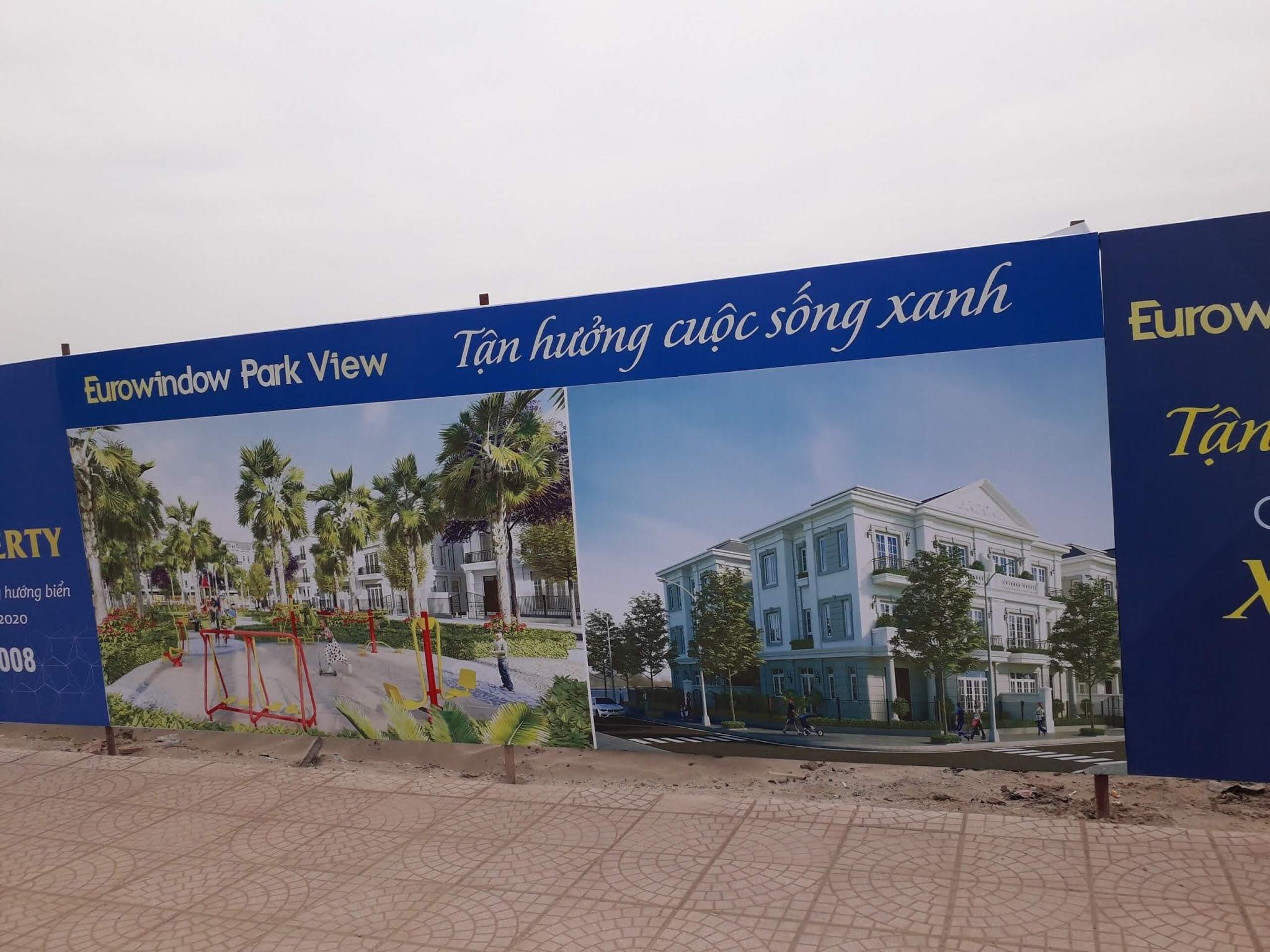 Hiện trạng dự án Eurowindow Twin Parks.