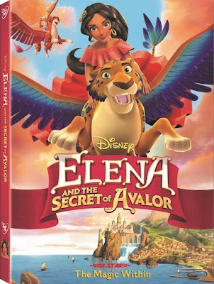 Elena And The Secret Of Avalor 2016 Dual Audio WEBRip 480p 90mb HEVC