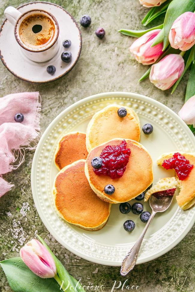 Pancakes na śniadanie