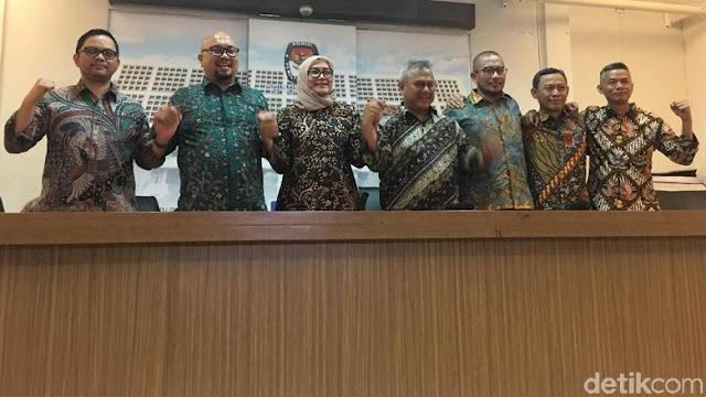 KPU Tetapkan Jokowi-Ma'ruf Jadi Capres-Cawapres Terpilih Minggu 30 Juni