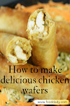 How to make delicious chicken wafers