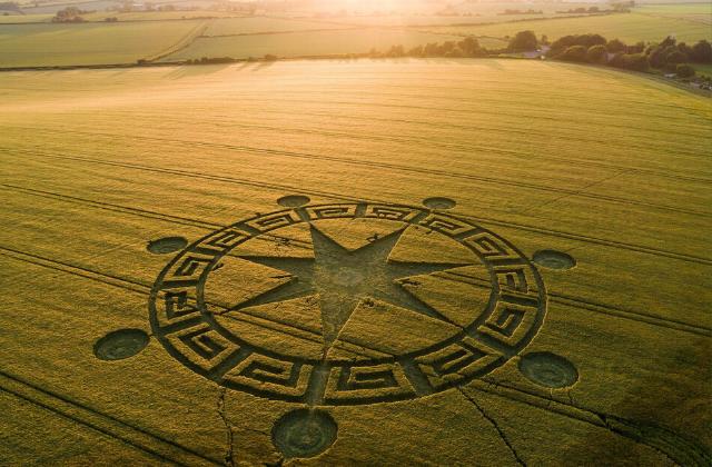 crop circle mystery