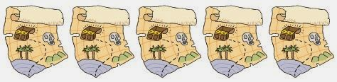 Treasure maps separator