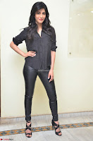 Shruti Haasan Looks Stunning trendy cool in Black relaxed Shirt and Tight Leather Pants ~ .com Exclusive Pics 034.jpg