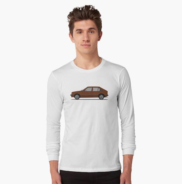 Opel Kadett D / Vauxhall Astra Mk1 t-shirt