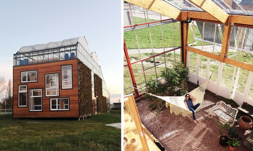 Homes in greenhouses ecoclimax - The greenhouse residence in rotterdam ...
