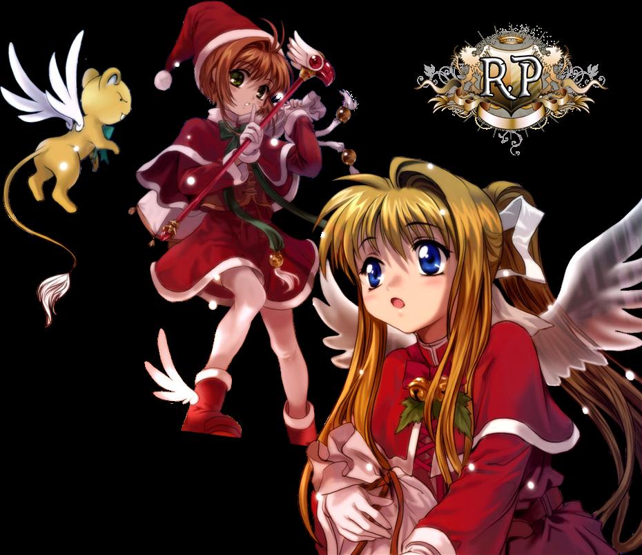 PNG- Sakura y Misuzu - Version Navideña