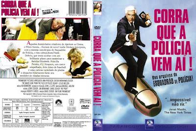 Filme Corra Que a Polícia Vem Aí (The Naked Gun) DVD Capa