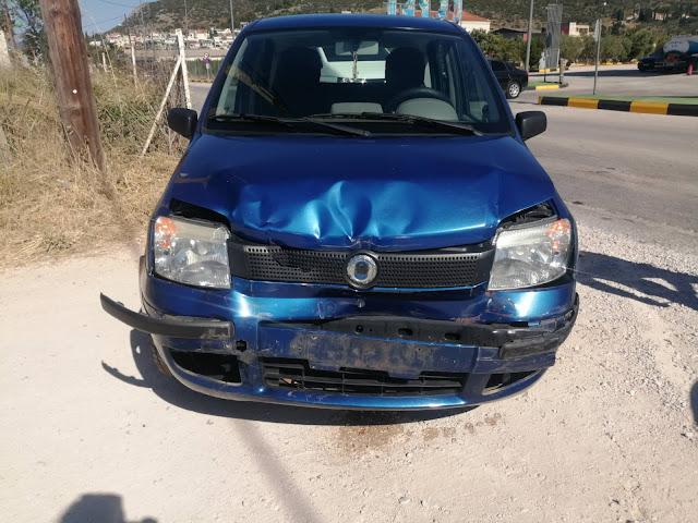 Καραμπόλα τριών αυτοκινήτων στο Ναύπλιο