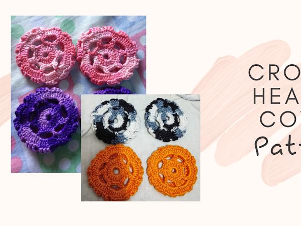 Crochet Headset Cover Pattern